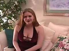 Дженни Лейн с большими сиськами отсасывает на 10