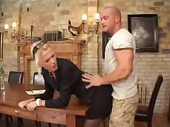 Банальный немецкий анальный секс