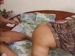 Бабушка споймала своего любовника