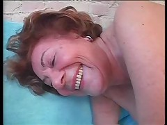 Шлюха бабушка Марта из Германии