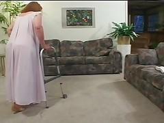 Babushka Davina v sekse ne sdaetsja