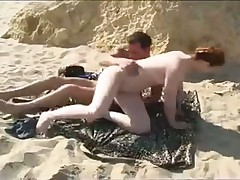 Ебля на уедитненном пляже