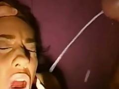 Подборка любительских камшотов на лицо