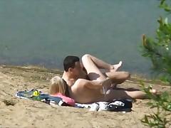 Трах на берегу озера