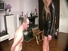 Красотка из Германии унижает мужика