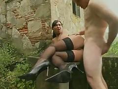 НЕт ничего лучше секса на природе... в Италии