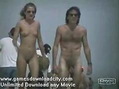 Nju i topless na nudistskom pljazhe Evropy