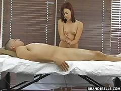 Подростковый нудистский массаж