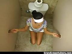 Ванная комната с глорихолом