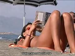 Нудистский пляж. Часть 04