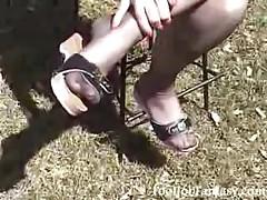 Красивые ножки в колготках