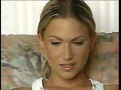 Порно кастинг с горячей Чешской блондой
