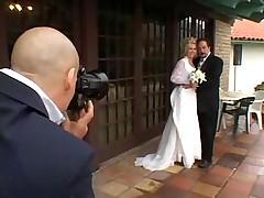 Невеста отдалась фотографу