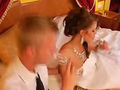 Супер анал с невестой
