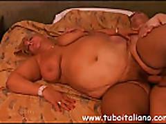 Seks s grudastoj tolstushkoj