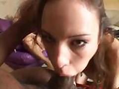 Amber Rajn (Amber Rayne) - 1 protiv dvuh - Scena 8