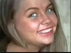 Минет от русской блондинки