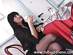 Марина - зрелая матюрка из Италии