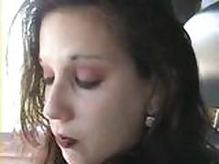 Виолет (Violet) ебут в машине