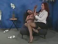 Секретарши лесбиянки любят фетиш