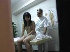 Seks s japonochkoj posle massazha