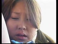 Японочку совратили в автобусе