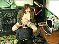 Секс со зрелой русской мамочкой