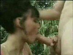 Anita Blond predpochitaet seks na prirode