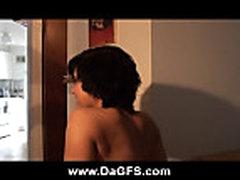 Biksi snimaet svoe pervoe porno video