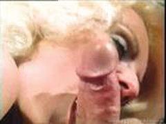 Классическое порно с блондинкой