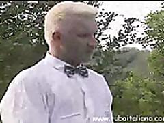 Bol'shoj chlen v uzkoj weli blondinki