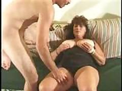 Секс со зрелой толстушкой