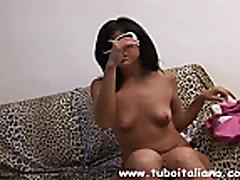 Горячая итальянка зрелая дама