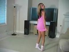 Кристина с красивыми ножками