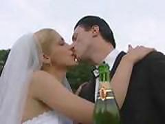 Невесты оттрахали толпой все гости на свадьбе