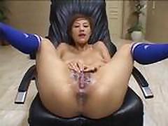Azusa Ajano (Azusa Ayano) pis'ka bukkake