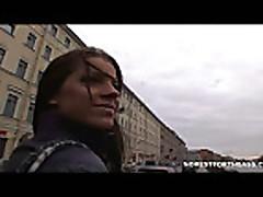 Сумасшедшая девушка Настя Ривас (Angel Rivas) любит жесткий секс
