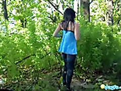 Тайным желанием Милы было - слиться с природой