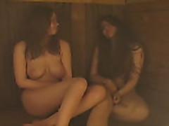 Orgija s moloden'kim russkimi krasotkami v saune