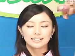 Кончил азиатке на лицо после минета