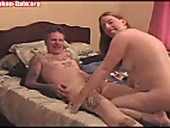 Секс с молоденькой рыжей толстушкой