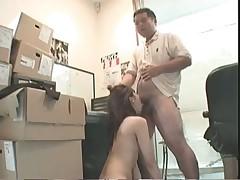 Офисный секс в скрытой камере