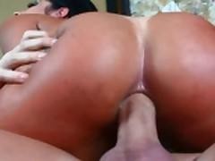 Monyca Сантьяго - в жопу и в рот