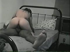 На ретро-кровати