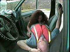 Испанка с шофером