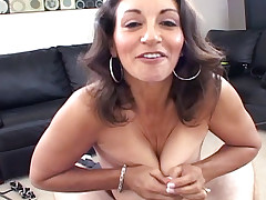 Busty MILF Persia gets booty call from horny office worker