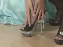 Вкусные лесбийские ножки