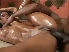 бразильское порно с маслом