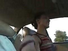 Дрочь от водителя
