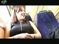 Съемка в вагоне поезда